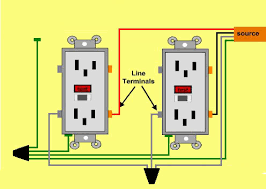 wiring gfci outlets richard s construction home clinic single and multiple outlets protected by one gfci receptacle