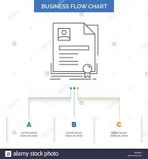 Contract To Close Flow Chart Contract Badge Business Agreement Certificate Business