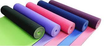 Premium 6MM <b>TPE Non</b>-<b>Slip Yoga</b> Mats (<b>183*61*0.6 cm</b>) – 7 ...