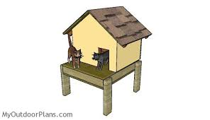 S Insulated Cat House Plans