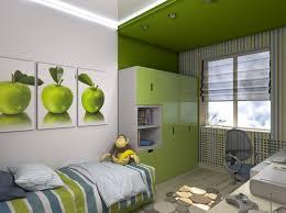 Kinderzimmer Junge Wandgestaltung Grün Blau   gerakaceh.info