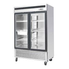 efi f2 54gdsvc 54 2 door glass reach in freezer