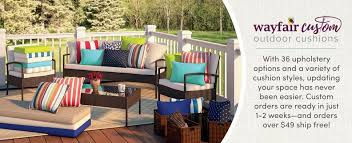 Wayfair Custom Outdoor Cushions