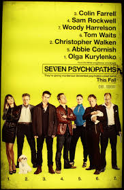 film review seven psychopaths rose red prince seven psychopaths poster