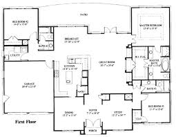 simple one story floor plans. Simple Plans Plans Simple One Story Floor Plans And Single House Australia To L
