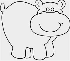 Hippopotamus Coloring Page Admirable Cute Hippo Coloring Pages To