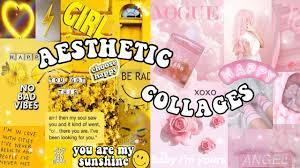 HOW TO MAKE AESTHETIC COLLAGES USING ...