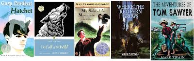 Outdoor fiction for young adults