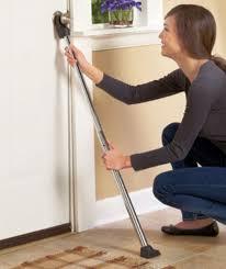 Security Door Stopper Bar Door Pole Brace Adjustable Home Hotel Dorm