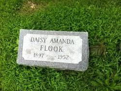 Daisy Amanda Flook (1897-1952) - Find A Grave Memorial