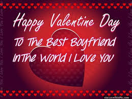 Valentines Quotes For Him Mesmerizing Happy Valentines Day To My Boyfriend Image Quote Pictures Photos