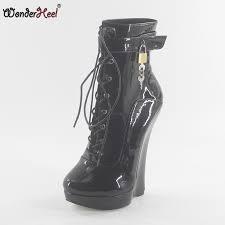 <b>Wonderheel</b> new patent leather <b>extreme high heel 18cm heel</b> with ...