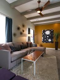 Mid Century Modern Living Room Living Room Living Room With Mid Century Modern Style With Stone