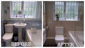Small Bathroom Total Makeover Renovation Youtube