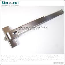 High Security Panic Bar For Commercial Door Kit Latch Emergency