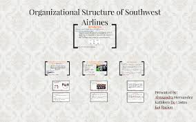 Southwest Airlines Organization Chart Organizational Structure Of Southwest Airlines By Kei Racion