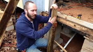 how i built my mobile home steps with reclaimed lumber for temporary use not a how to you