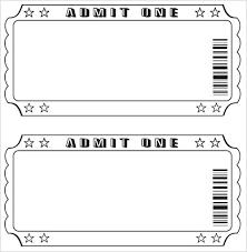 Admit One Ticket Template Free Gorgeous Movie Ticket Template Printable Templates Free Blank Midcitywest