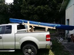 DIY Kayak Truck Rack | Stuff to Make | Pinterest | Kayak rack for ...