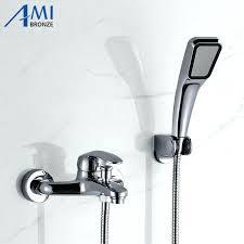 shower faucet diverter delta tub shower faucet repair