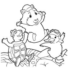 Leuk Voor Kids Wonder Pets Kleurplaten