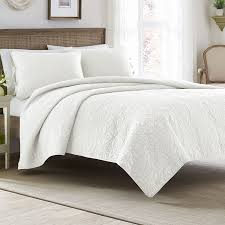 78 best Laura Ashley Bedding images on Pinterest | 3 piece ... & Laura Ashley Felicity White Quilt Set Adamdwight.com