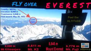 everest mountain flight yeti air nepal hd