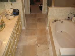 Travertine Bathroom Floor Tiles Fresh On Intended For Create Ambience Your  Desire With Tile 3