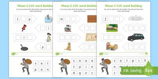 1.3 by using the bingobonic free phonics worksheets, esl/efl students will quickly learn and master the following: Phase 2 Cvc Word Building Reception English Worksheets Pdf