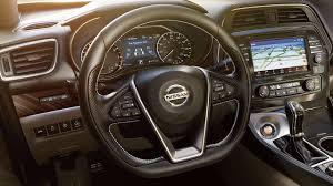 2018 nissan maxima interior.  2018 2018 nissan maxima luxury sedan interior highlighting the racinginspired  steering wheel design inside nissan maxima interior n