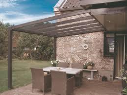 400 X 400 Cm Aluminium Terrassenüberdachung Trendline Mit