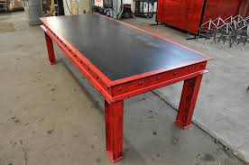 industrial furniture table. Simple Table Firehouse Table Intended Industrial Furniture R