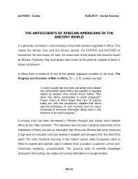 african american social science baseline essay dr john henrik clark   17