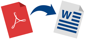 how to convert pdf to word offline with
