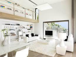 modern white living rooms