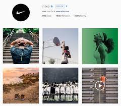 nike insram account has great visuals