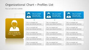 Org Chart Powerpoint Slide Org Chart Template For Powerpoint