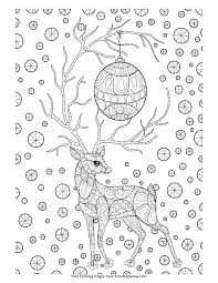 Free Downloadable Christmas Colouring Sheets Printable Coloring