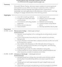 How To Write Masters Degree On Resume Masters Degree Resume Samples