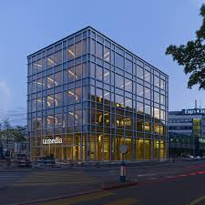 glass exterior modern office. glamorous modern office building exterior and with tamedia shigeru ban zurich view glass