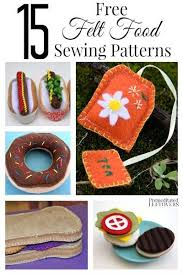 Felt Food Patterns Impressive Felt Food Is Perfect For Little Foodies They Are Easy To Make And