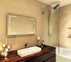 Heated Bathroom Mirrors Some Excellent Led Bathroom Mirrors With Shaver Socket Examples