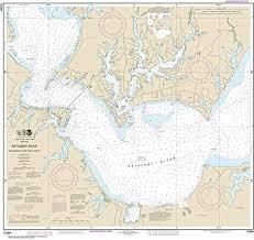 Amazon Com Maphouse Noaa Chart 12284 Patuxent River