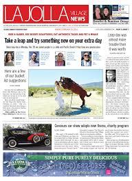 La Jolla Village News, February 26th, 2016 by San Diego Community Newspaper  Group - issuu