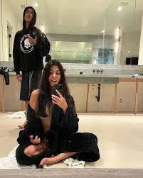 Flirty Topless Mirror Selfie