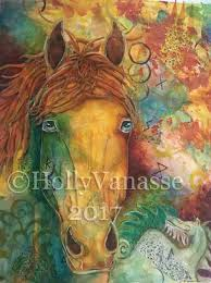 colorful horse paintings colorful horse paintings work in progress pictures for painting colorful horse head paintings