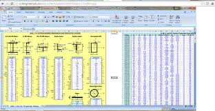 Small Picture Civil Engineering Spreadsheets Civil Engineers PK