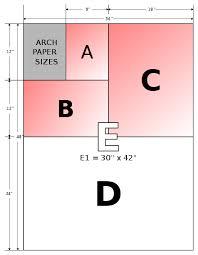 Paper Size Chart 11x17 Paper Size Wikiwand
