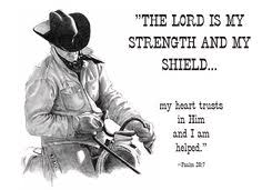 Christian Cowboy Quotes Best of Motivational Cowboy Quotes Faith If Youthen Though You Are Evil