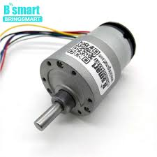 Bringsmart <b>JGB37 520B Encoder Gear</b> Motor DC 12 volt With ...